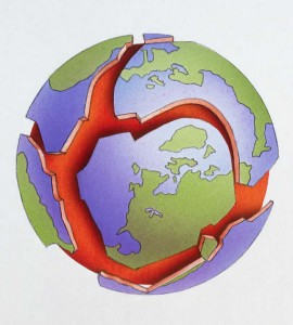 Tectonic Plates.